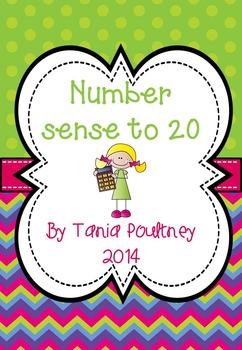 Number Sense to 20 with a bonus FREE file