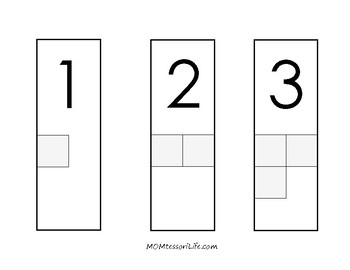 Number to Quantity Cards 1-5