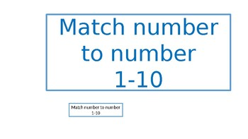 Number to number match