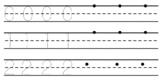 Number tracing practice 1-20