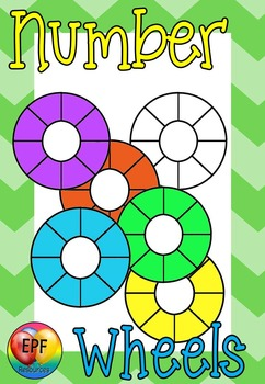 Number wheels clip art