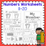 Number worksheets 11-20