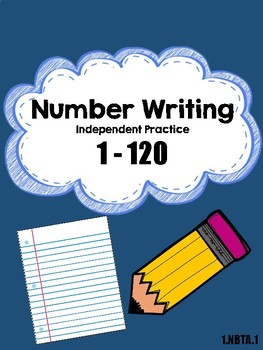 Number writing 1 to 120