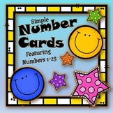 Number/Number Word Cards