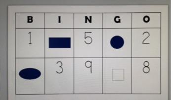 Number/Shape Bingo