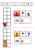 Numberblocks Addition worksheets   KS1 Maths