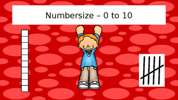 Numbercise! Subitizing practice 0-10