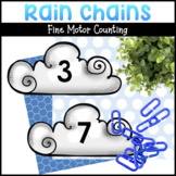 Numbered Clouds | Math Activities