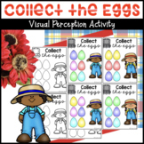 Egg Pattern Cards Visual Perception Activity