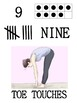 Numbered Exercise Cards