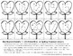 Valentine's Day Hearts, Trace & Sequence Numbers thru Teens, Spring Math Center