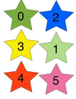 Numbered Stars 1-20