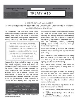 Numbered Treaty #10