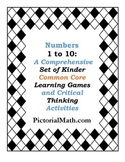 Numbers 1 to 10: Comprehensive Common Core Learning Games