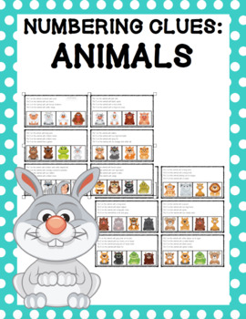 Numbering Clues: Animals