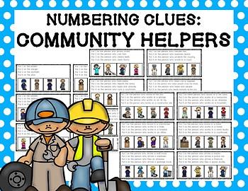 Numbering Clues: Community Helpers