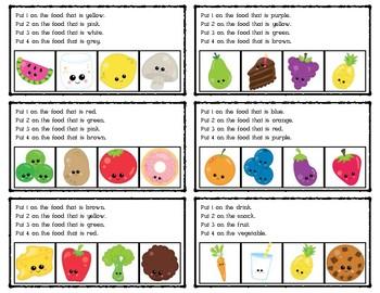 Numbering Clues: Cute Food