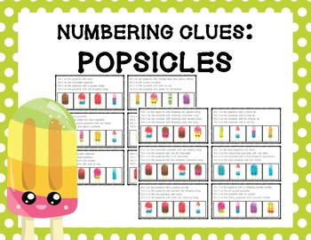 Numbering Clues: Popsicles