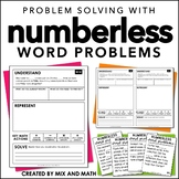 Numberless Word Problems | Distance Learning