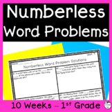 Numberless Word Problems ~ Addition & Subtraction within 10 ~ 1st Grade