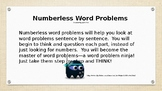 Numberless Word Problems for 4th and 5th grade Part 1