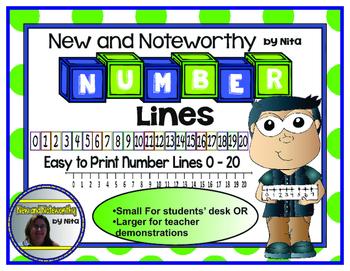 Numberline 1-20