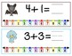 Numberline Addition: Animal Theme {one-time prep math lesson}