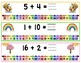 Numberline Addition: Weather Theme {one-time prep math lesson}