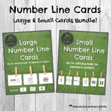 Numberline Card Bundle for Subitizing & Number Sense - Hands On Math Games