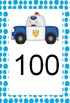 Numberline - Count by 1s, 2s, and 10s (Police and Ambulanc