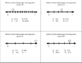 Numberline Fractions - Which one is not equal?