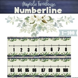 Numberline Magnolia Farmhouse Classroom Decor