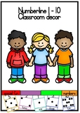 Numberline Printable Classroom resource