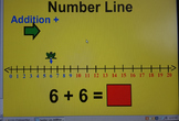 Numberline addition