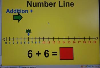 Numberline addition