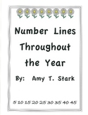 Numberlines Throughout the Year - Common Core Friendly