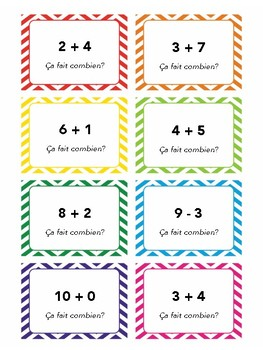 Numbers 0-1, task cards, quiz quiz trade, speaking activity in French, French 1