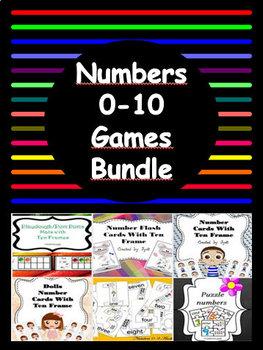 Numbers 0-10 BUNDLE