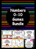 Numbers 0-10  Math Games BUNDLE