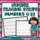 Numbers 0-10 Bundle: Worksheets, Number Posters, Tracing Strips, Playdough Mats