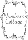 Numbers 0-10 Collage
