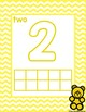 Numbers 0-10 Counting Bears and Tracing Mat