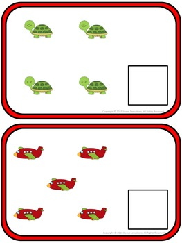 Numbers 0-10 Counting Game Math Station for the Foundation Stage (UK)