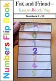 Numbers 0-10 Flip Book
