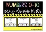 Numbers 0-10 Play-Dough Mats