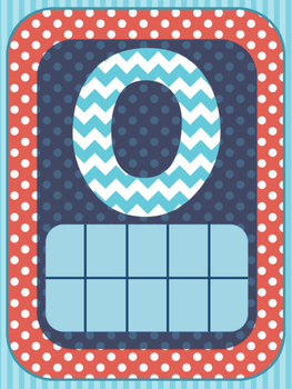 Numbers 0-10 Posters- Dr. Seuss Edition