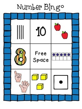 Numbers 0-10 Printables and Games