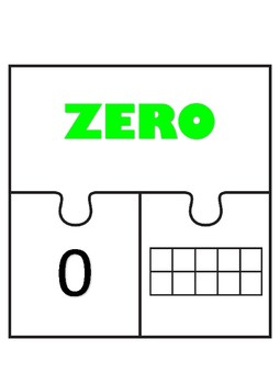 Numbers 0-10 Puzzle