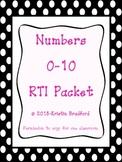 Numbers 0-10 RTI