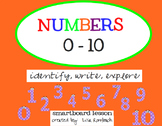 Numbers 0-10 SmartBoard lesson